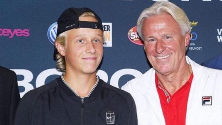Синът на Бьорн Борг вече тренира в академията на Надал
