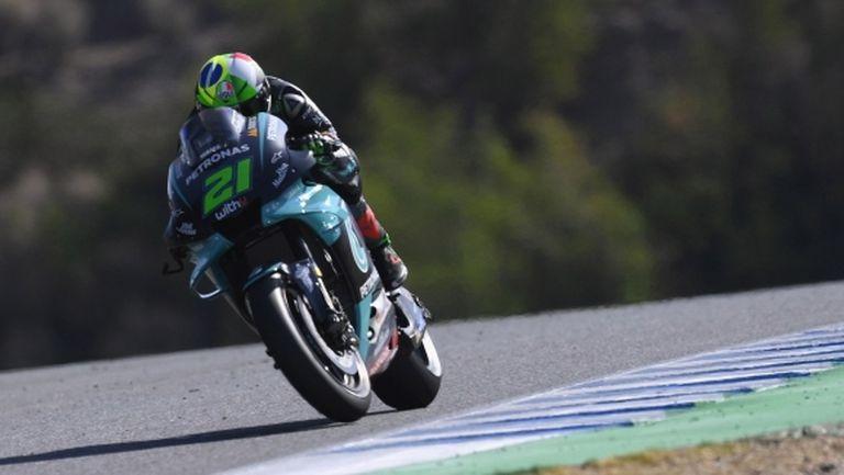 Франко Морбидели поведе във втората тренировка преди Гран При на Испания