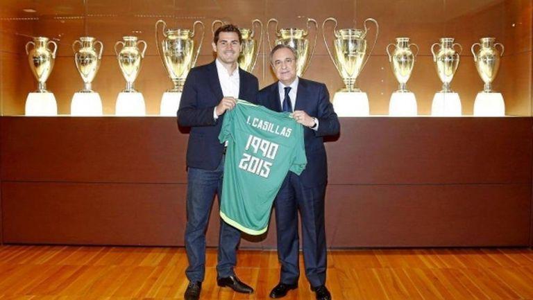 Сан Икер се завръща в Реал Мадрид