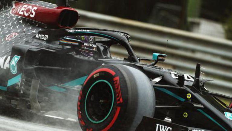 Хамилтън след изравнения рекорд на Шумахер: Трябва да се ощипя