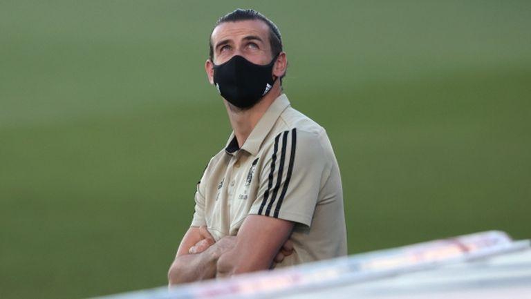 Бейл този път дори не попадна в групата на Реал Мадрид