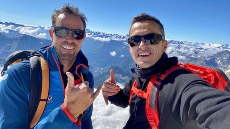 Христо Янев започна изкачването на Монблан