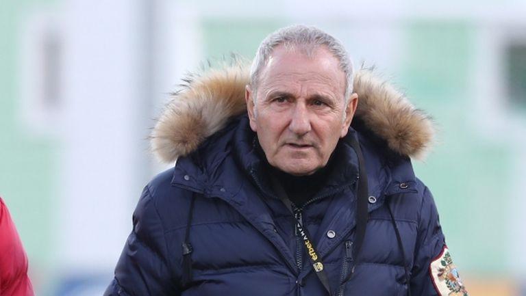 Никола Спасов се завърна в Първа лига