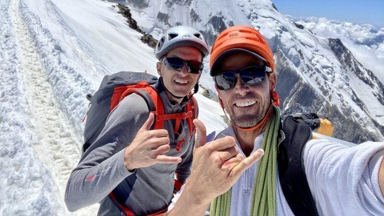 Христо Янев продължи изкачването на Монблан, стигна 3800 метра