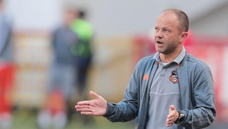 Дмитрий Парфьонов подаде оставка като треньор на Урал