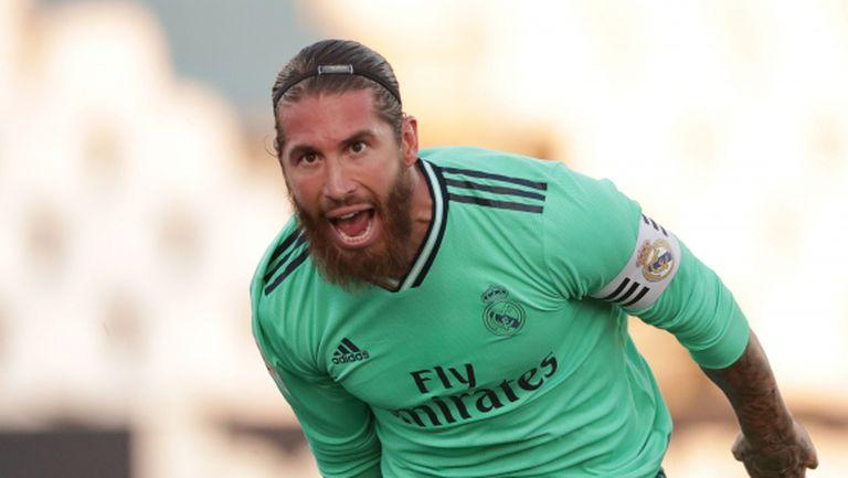 Серхио Рамос вече има 100 гола на клубно ниво
