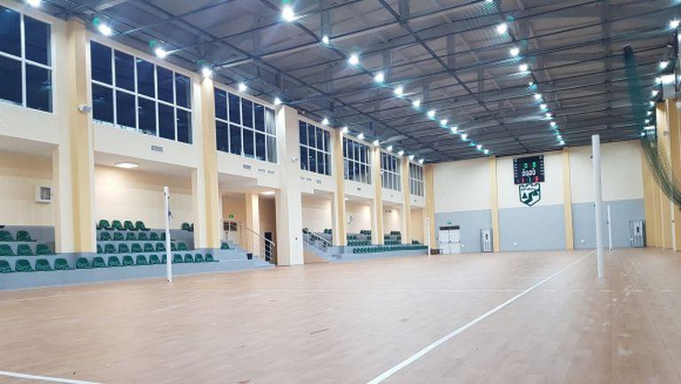 Волейболната зала във Враца е напълно готова