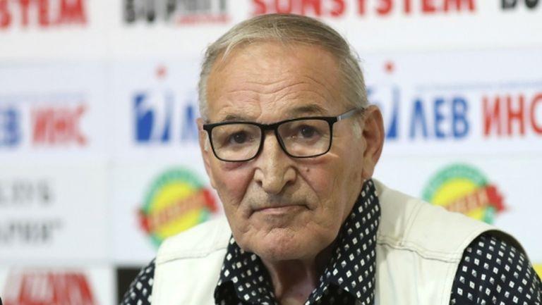 Димитър Пенев: ЦСКА трябва да печели поне по една купа на сезон