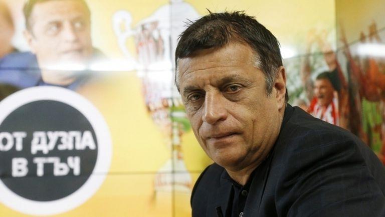 Стойне Манолов: Нямаше да играем във Втора лига