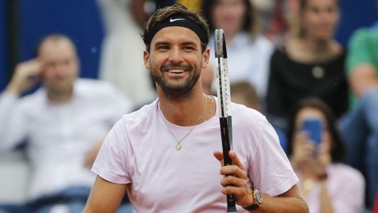 Григор Димитров ще играе на Ultimate Tennis Showdown 2
