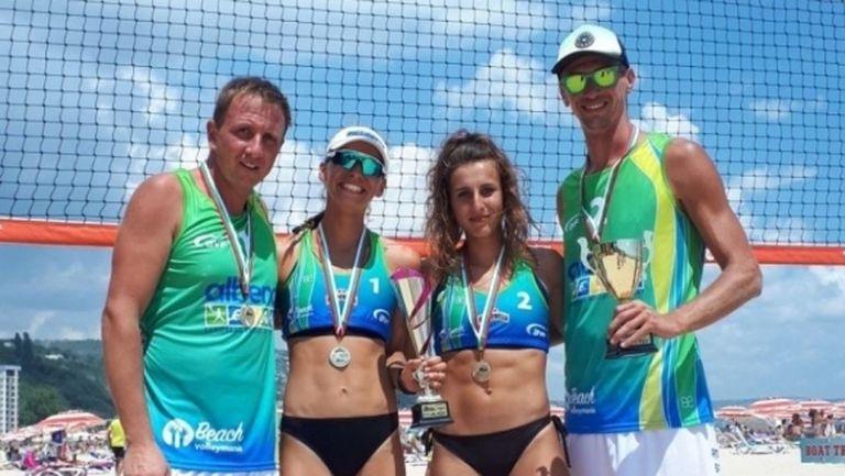 Варненски двойки са №1 в първия турнир от Националната верига по плажен волейбол