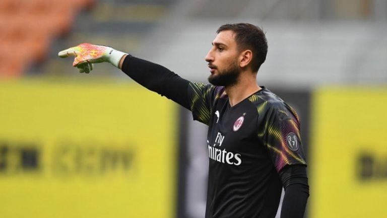 Донарума готов да преподпише с Милан