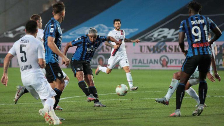 Аталанта измести Интер от второто място в Серия А (видео)