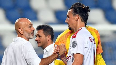 Официално: Стефано Пиоли остава начело на Милан до 2022 година