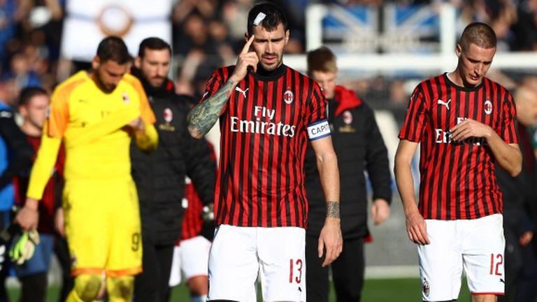 """Милан остана без защита за сблъсъка с най-силната атака в Серия """"А"""""""