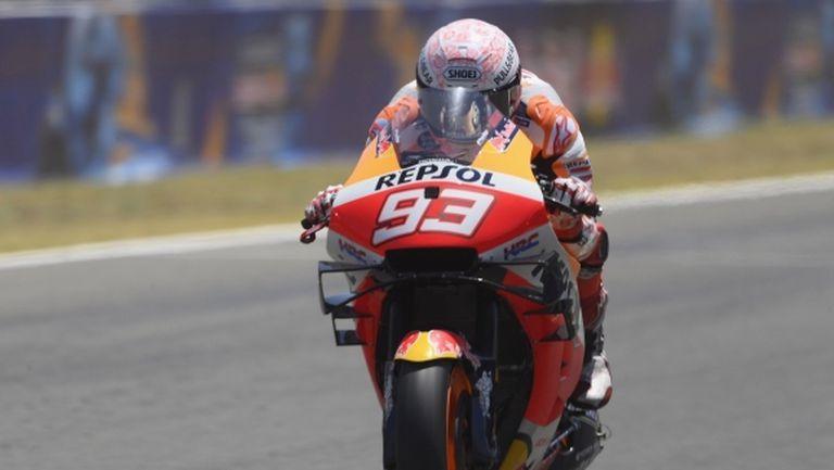 Марк Маркес ще се пробва да участва в Гран При на Андалусия тази седмица