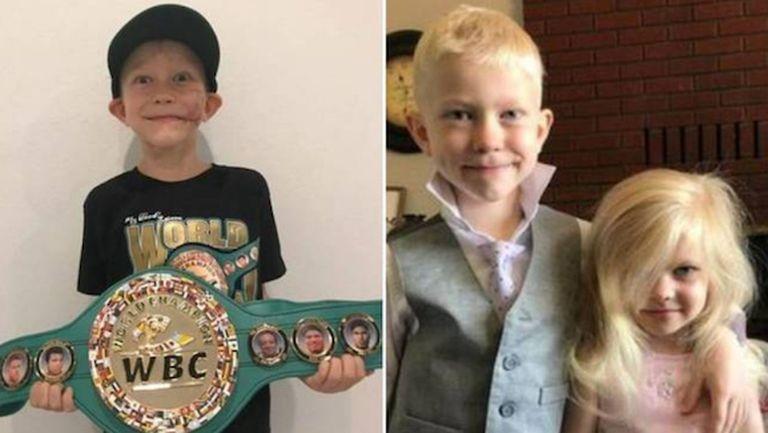 WBC обяви за световен шампион 6-годишно момче, спасило сестра си от нападение на куче