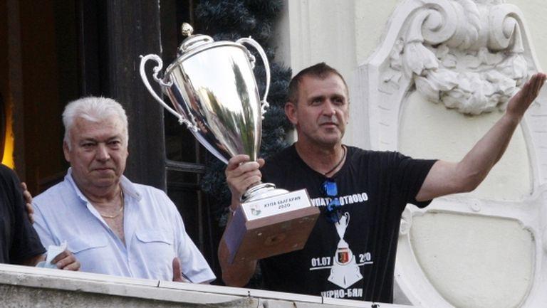 Акрапович: Дайте ми Левски и три бона за заплати и отборът ще експлодира