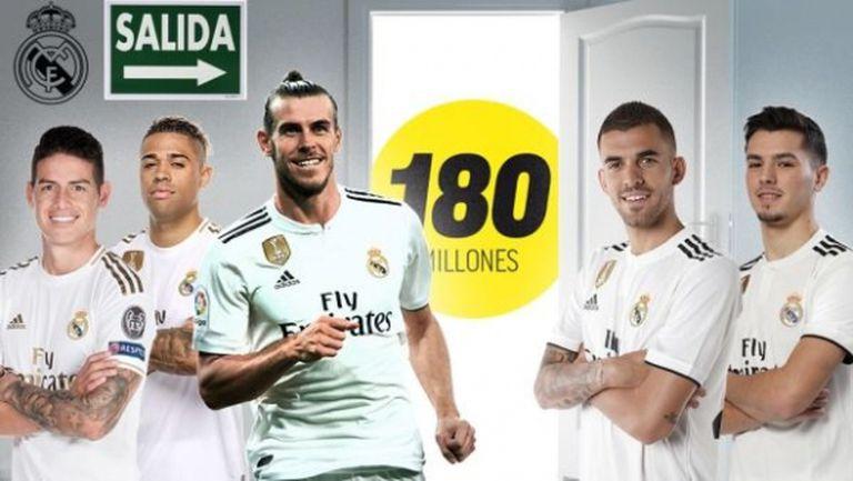 Лятната разпродaжба в Реал Мадрид трябва да донесе 180 млн.