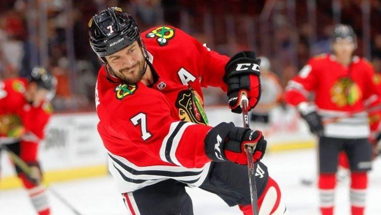 Сийбрук няма да е част от състава на Чикаго при подновяването на НХЛ
