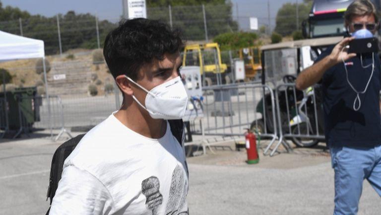 Марк Маркес няма да стартира в Гран При на Андалусия