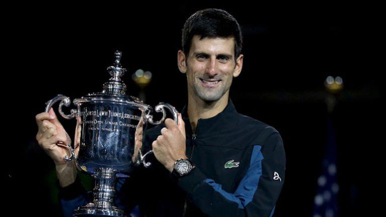 Изненадващо или не, Джокович тренира усилено за US Open