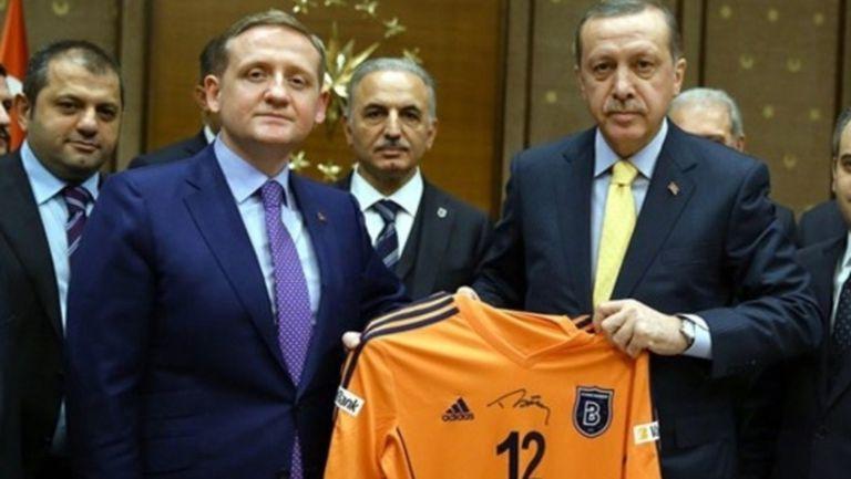 Ердоган прие в двореца си шампионите Истанбул ББ