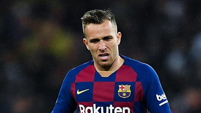 Артур отсвири Барселона за ШЛ, прибра се в Бразилия
