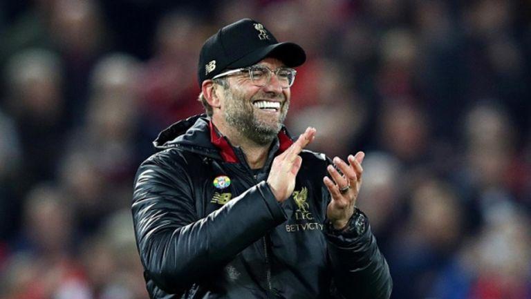 Юрген Клоп е мениджър на годината в Англия