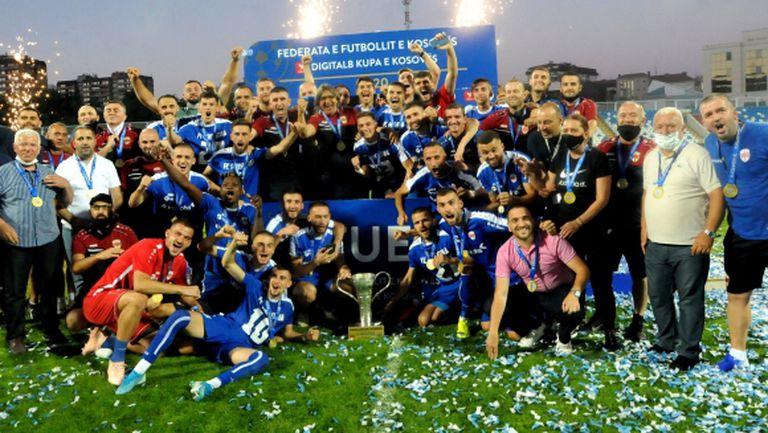 ФК Прищина спечели за рекорден седми път купата на Косово
