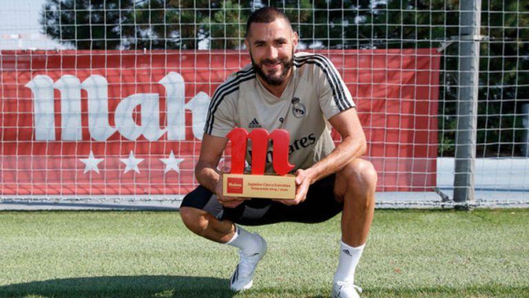Избраха Бензема за най-добър през сезона в Реал Мадрид