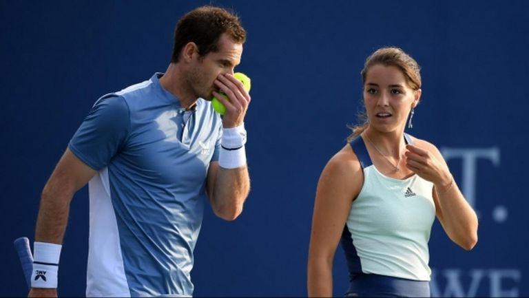 Анди Мъри призова за повече турнири със смесени двойки