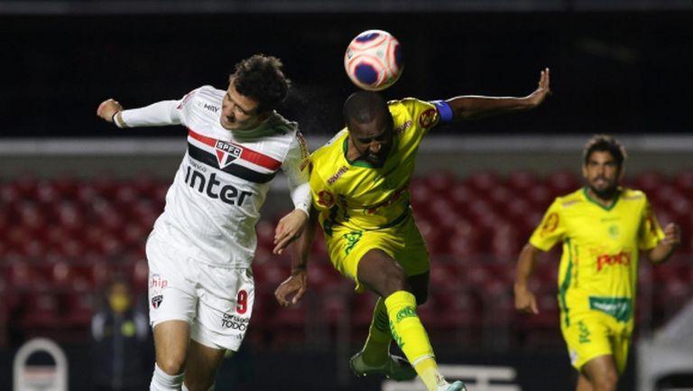 Cкромният Мирасол елиминира с юношите си Сао Пауло за щатската купа