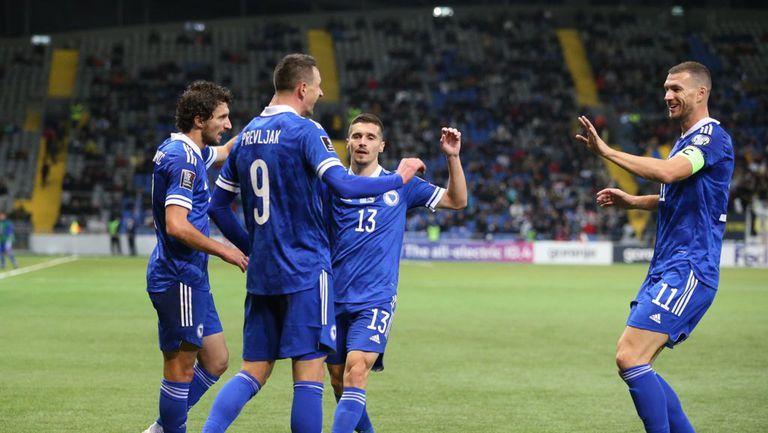 Босна взе първа победа в квалификациите при Петев и вече е на второ място в групата на Франция