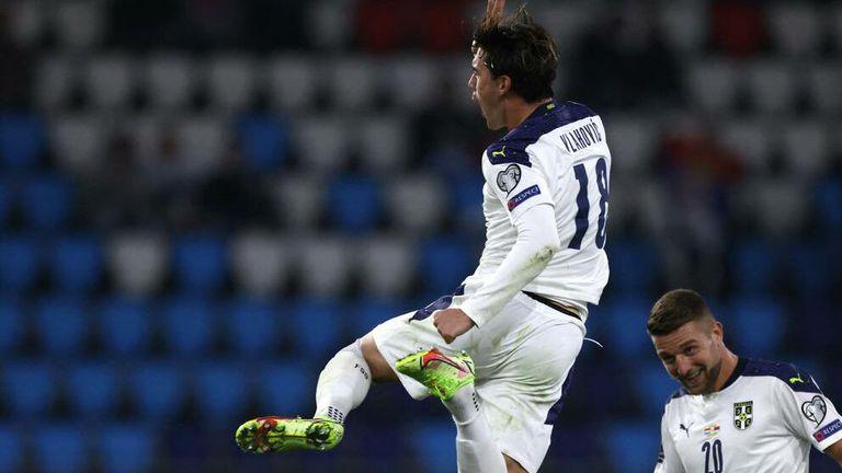 Влахович донесе неочаквано трудна победа на Сърбия над Люксембург