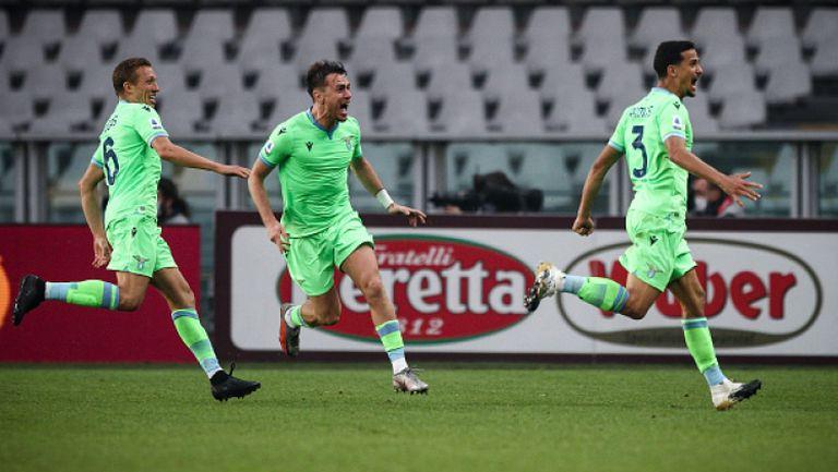 Два гола в добавеното време изковаха пълен обрат за Лацио в Торино