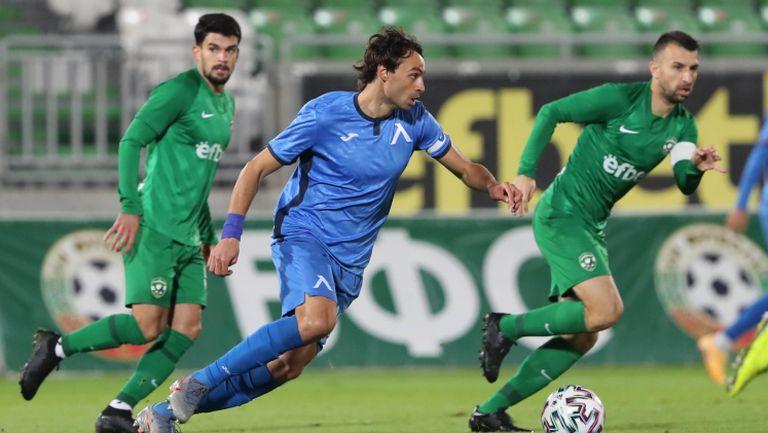 Късен гол повали Левски в Разград и прати Лудогорец на първо място, Лудогорец - Левски 1:0