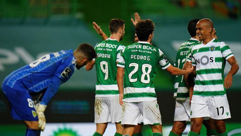 Спортинг (Лисабон) - Тондела 4:0
