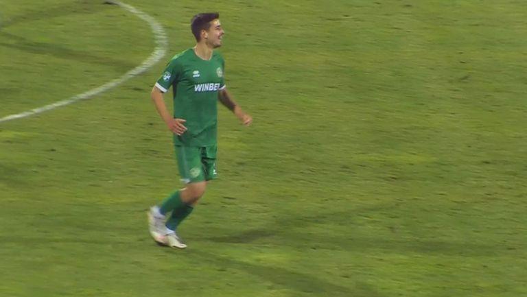 Кошмарът за Етър във Враца продължава, Педро Лагоа заби петия гол за Ботев
