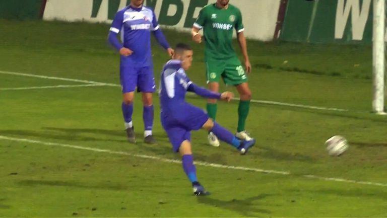 Свилен Щерев върна едно попадение за Етър срещу Ботев Враца
