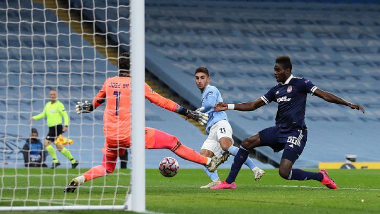 Манчестър Сити разби Олимпиакос с 3:0