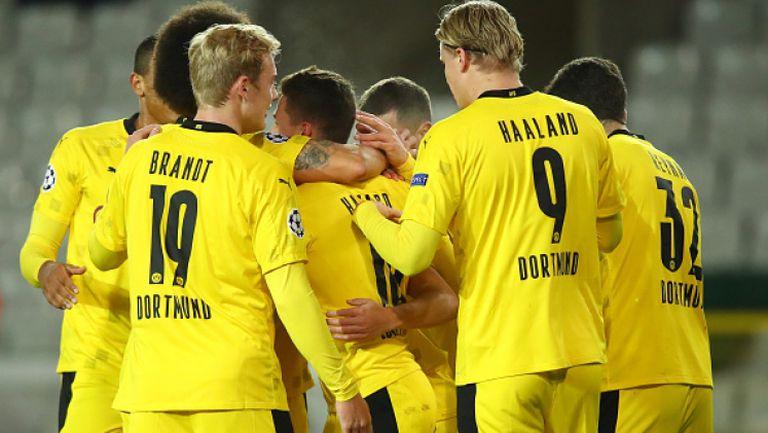 Брюж - Борусия (Дортмунд) 0:3