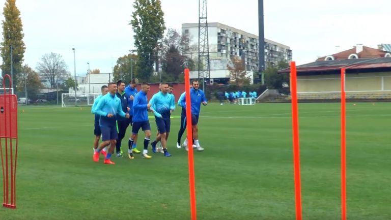 В Левски започнаха подготовка за мача с Локомотив (Пд)