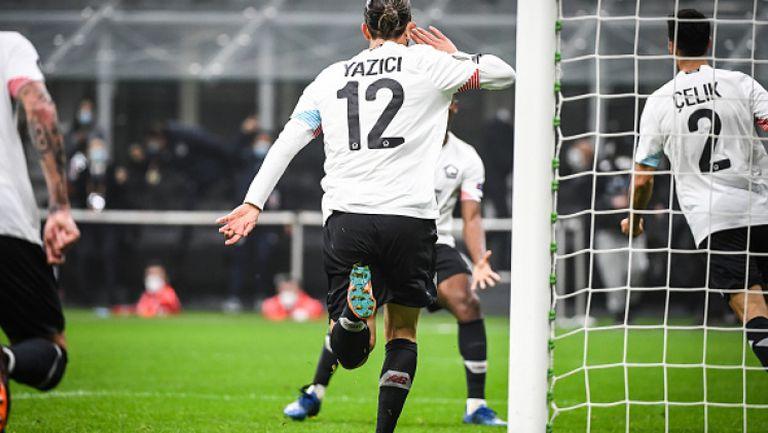 Милан - Лил 0:3
