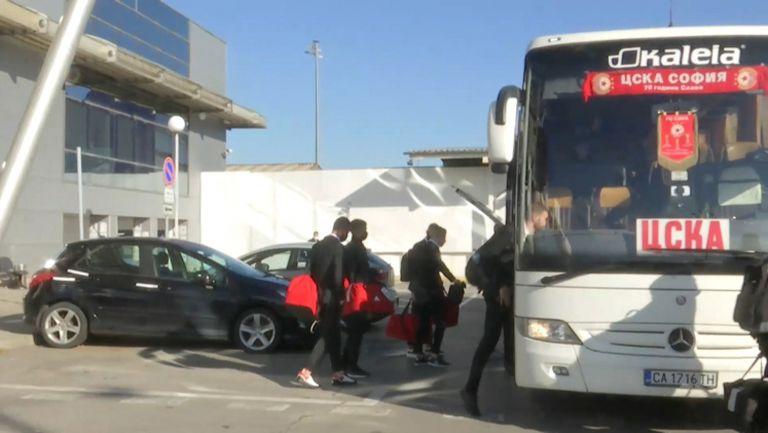 Играчите на ЦСКА-София се прибраха след тежката загуба от Йънг Бойс в групите на Лига Европа