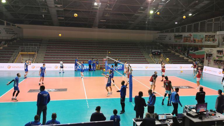 Левски и Локо Пловдив в решителен сблъсък за първата осмица на волейболната лига