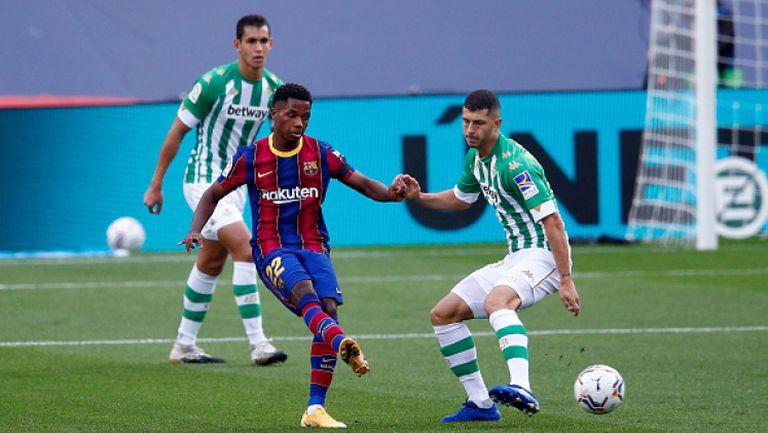 Барселона - Реал Бетис 5:2