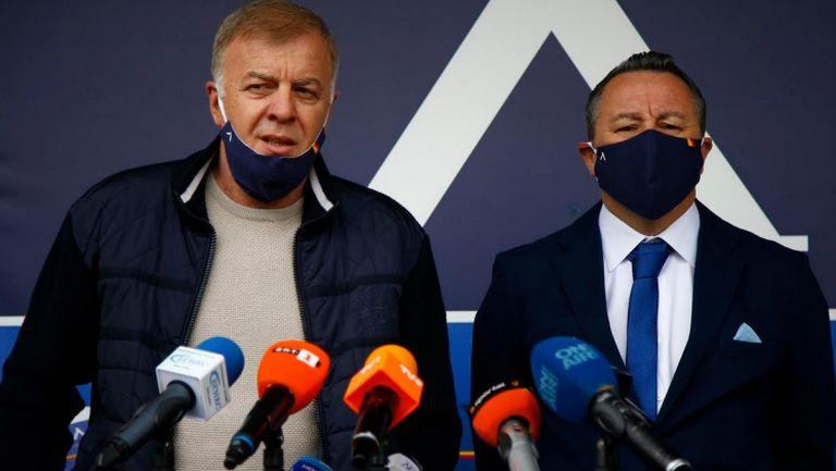 Наско Сираков представи новия треньор на Левски Славиша Стоянович (пълна пресконференция)