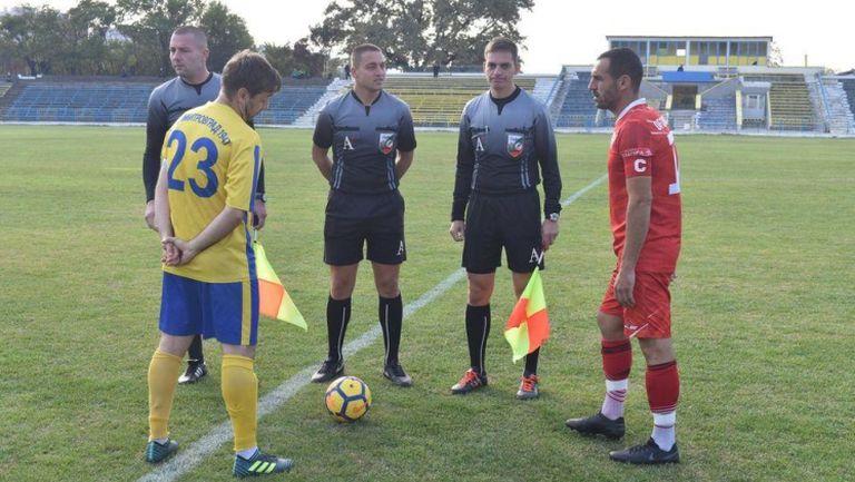 Димитровград победи Хасково с 2:0 в областното дерби на Трета югоизточна лига
