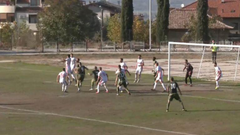 Беласица спечели регионалното дерби срещу Вихрен с 2:1, шеметен обрат за домакините